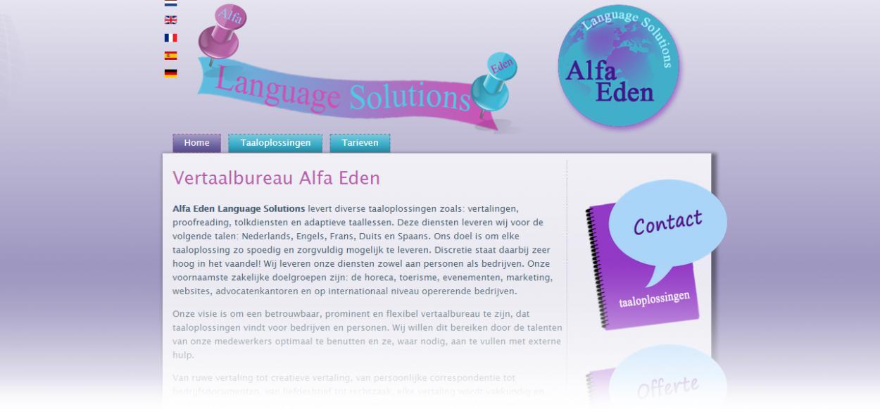 Alfa Eden Vertaalbureau