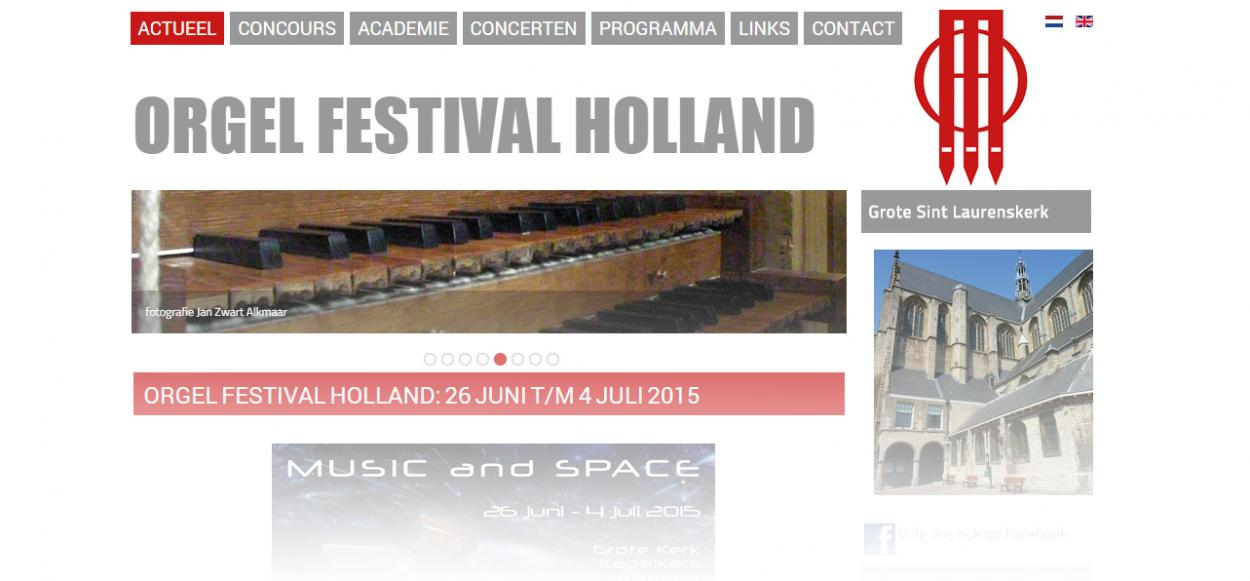 Orgel Festival Holland